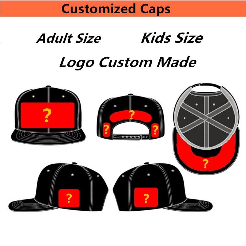 50PCS/LOT Fast Free Shipping Custom Baseball Acrylic 3D Embroidery Trucker Mesh Cap Snap On Back Adult Men Women Kids Team Hats