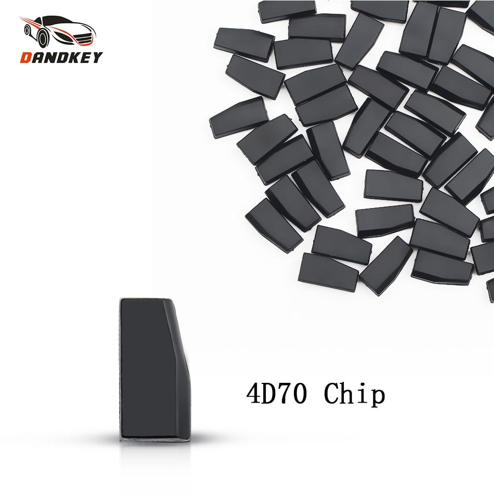 Dandkey 1 PCS * ID70 K3 Em Branco Transponder Chip Para Toyota Para Kia Forte 4D70 Transponder Chip Auto Carro Remoto chip de chave Transponder