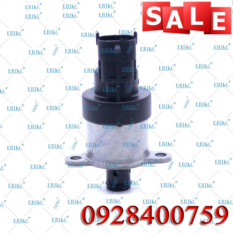 Bomba dosificadora diésel ERIKC 0928400759, válvula solenoide 0 928 400 759, regulador de presión de bomba de combustible, válvula 800215-00004 para Doosan