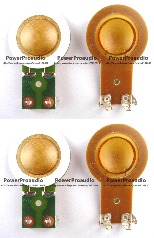 Falante Fostex D-420 4 pçs/lote Substituição Diafragma para Promover
