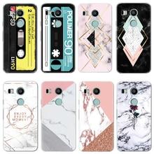 Soft TPU Phone Case for LG X Power 2 G4 G5 G6 Q6 Q7 K4 K5 K8 K10 K11 Plus 2017 V20 V30 Nexus 5X Case Silicone Fundas Cover Coque
