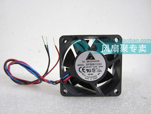 Оригинальный 12V0. 20A Delta 6CM60*60*25 AFB0612HH-AF00 3-линейный Вентилятор охлаждения с двойным шариковым подшипником
