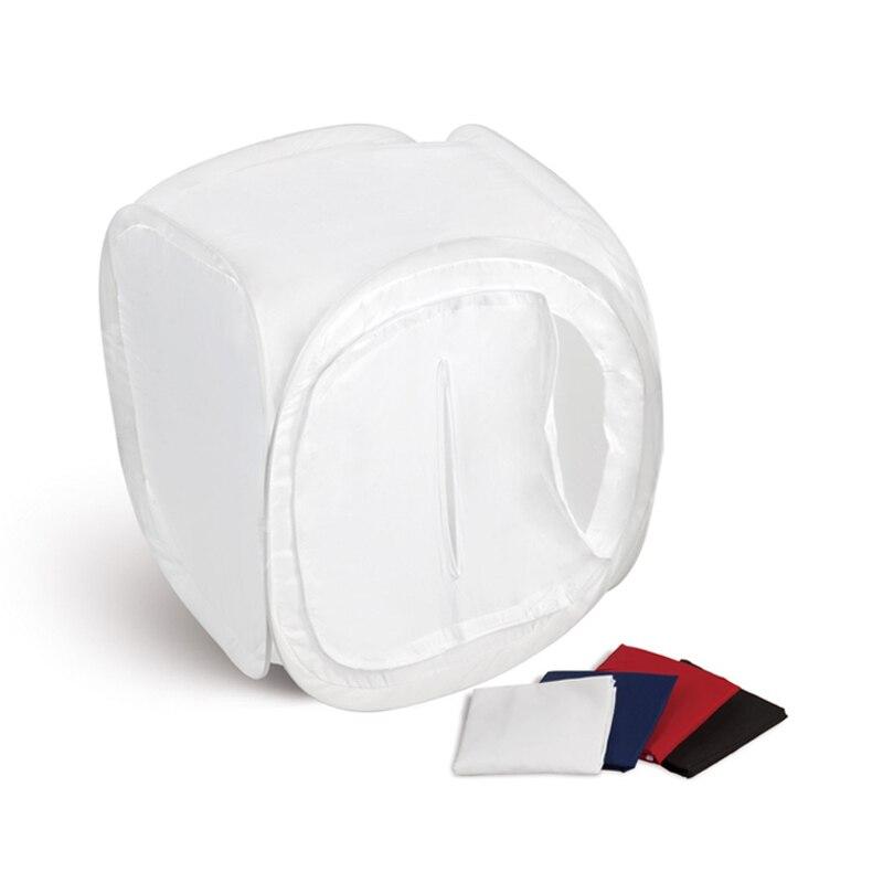 80x80cm Studio fotografico soft box tenda da tiro Softbox scatola cubo pieghevole fotografia tettoia leggera