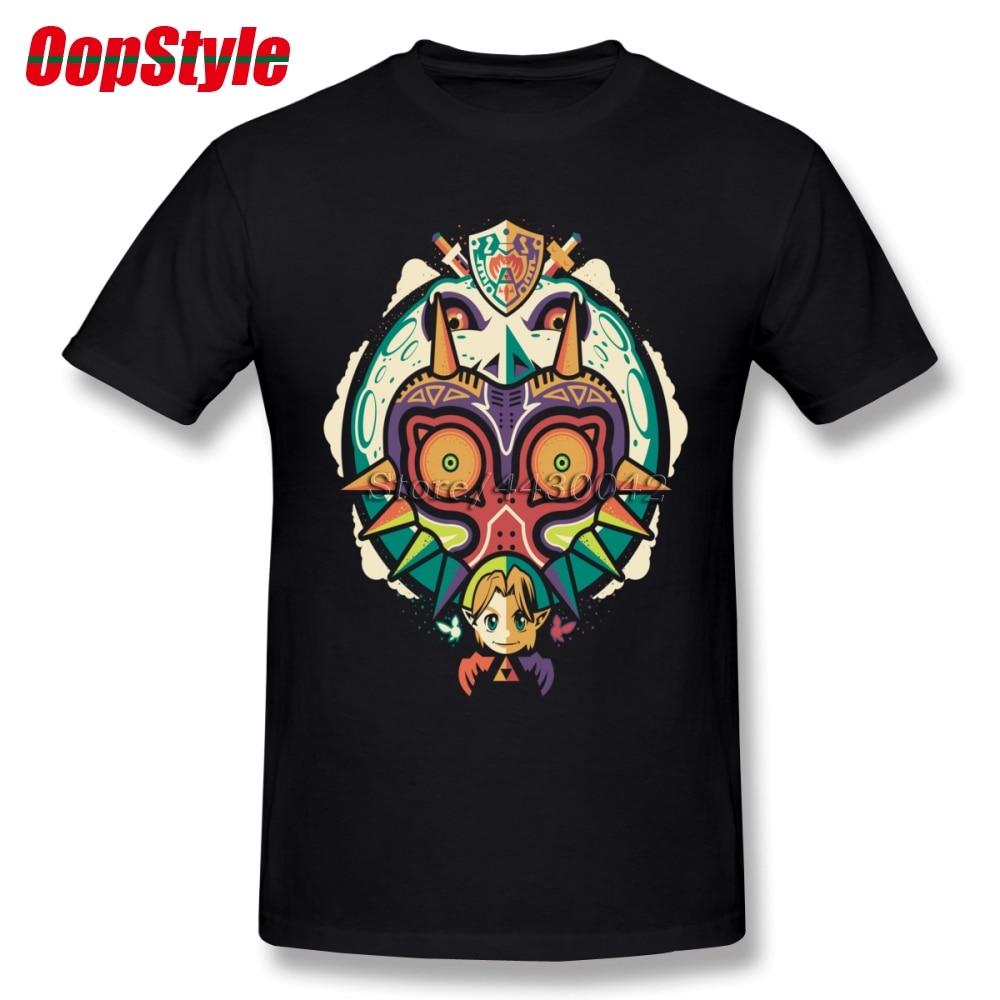 Мужская футболка с коротким рукавом Legend Of Zelda Sheik хлопковая Футболка большого