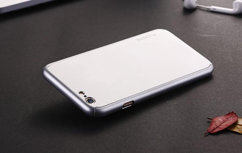 Floveme 6 s 7 plus armor screen protector 360 stopni case dla iphone 7 6 6 s dla iphone 6 6s 7 plus full chroń odporny na wstrząsy pokrywa 22