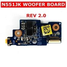 N551JK WOOFER CONSEIL REV2.0 Pour ASUS N551J N551JK N551JM N551JX N551JW G551JW G551JM G551JX carte AUDIO N551JK WOOFER_BOARD