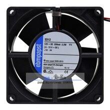 Nouveau ebmpapst PAPST 3312 9232 DC12V 2.4 W roulement à billes DC ventilateur de refroidissement