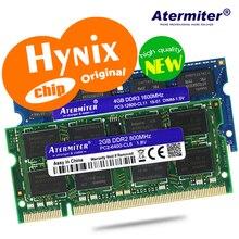 RAM hynix chip pour ordinateur portable, 1 go, 2 go, 4 go, 8 go, 4 go PC2 PC3 DDR2 DDR3, 667Mhz, 800Mhz, 1333hz, 1600Mhz, 5300 Mhz, 6400 S 8500 10600
