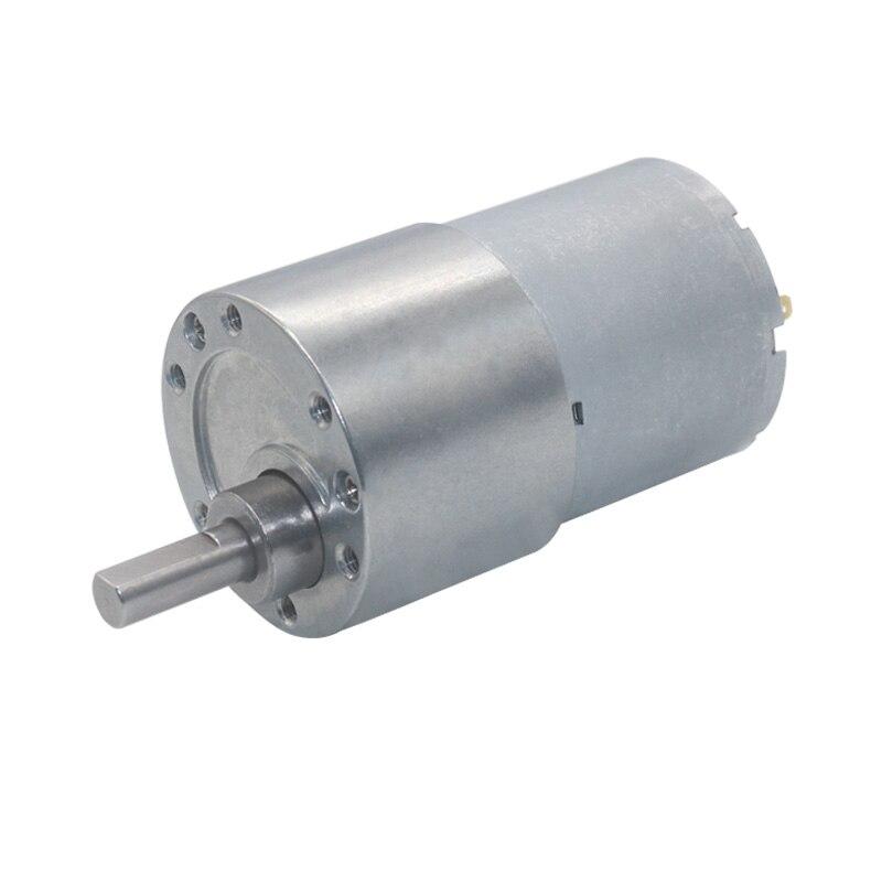 JGB37-3530 diámetro de 37mm 12v DC Motor de 24V Motor de engranaje