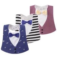 bib baby bibs baberos babador bavoir slabber waterproof cotton stripe printing infant cloths 0 24 months
