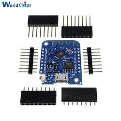 Для Wemos D1 Mini V3.0.0 WIFI Интернет вещей Плата развития ESP8266 CH340 CH340G для Arduino Nodemcu V2 MicroPython