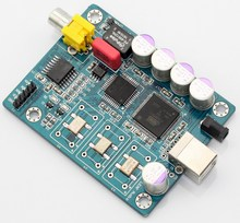 Interface numérique ATSAM3U1C XC2C64A + WM8805 italie Amanero USB IIS sortie coaxiale I2S sortie Format DSD