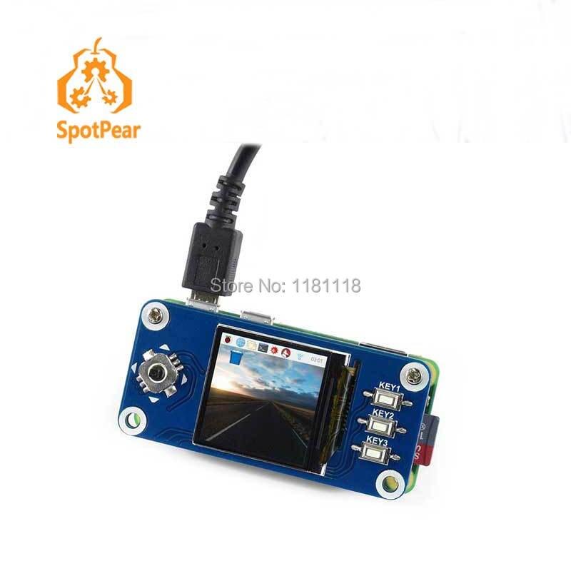Raspberry pi null w 1,3 zoll IPS LCD 240x240 display PI3B +