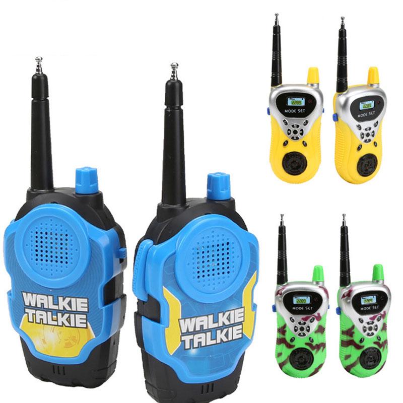Novo assort quente bonito remoto sem fio chamada elétrica walkie-talkie brinquedos para presentes de aniversário dos meninos