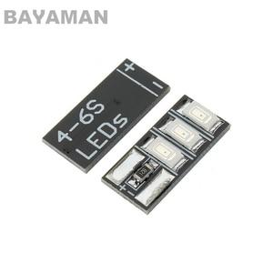 4pcs Tiny LEDS 4-6S Mini LED LED lamp board for DIY RC Multicopter Drones