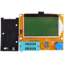 Probador de resistencia de Transistor gráfico LCR-T4 condensador ESR SCR