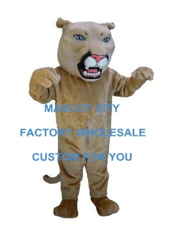 Профессиональный леопард/Пантера/костюм Пумы талисмана Mascotte костюм маскота костюм нарядное платье для вечеринки Карнавал SW663