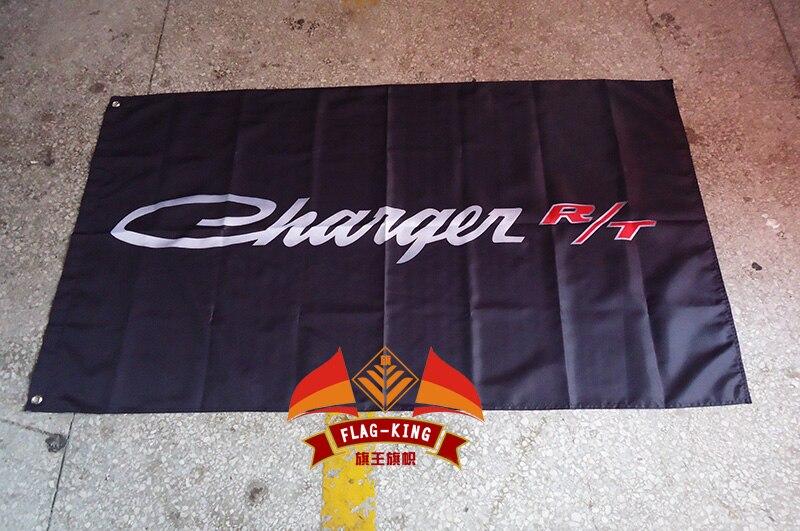 Changer racing club флаг, 90*150 см полиэстер Dodge зарядное устройство R/T