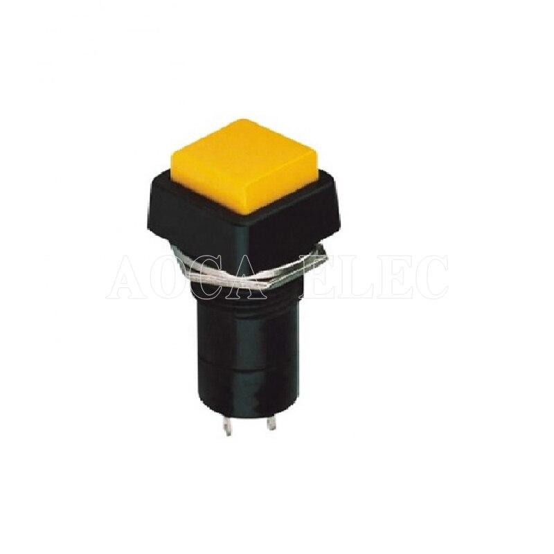 Interrupteur bouton-poussoir   100 pièces, 12MM, OFF-ON