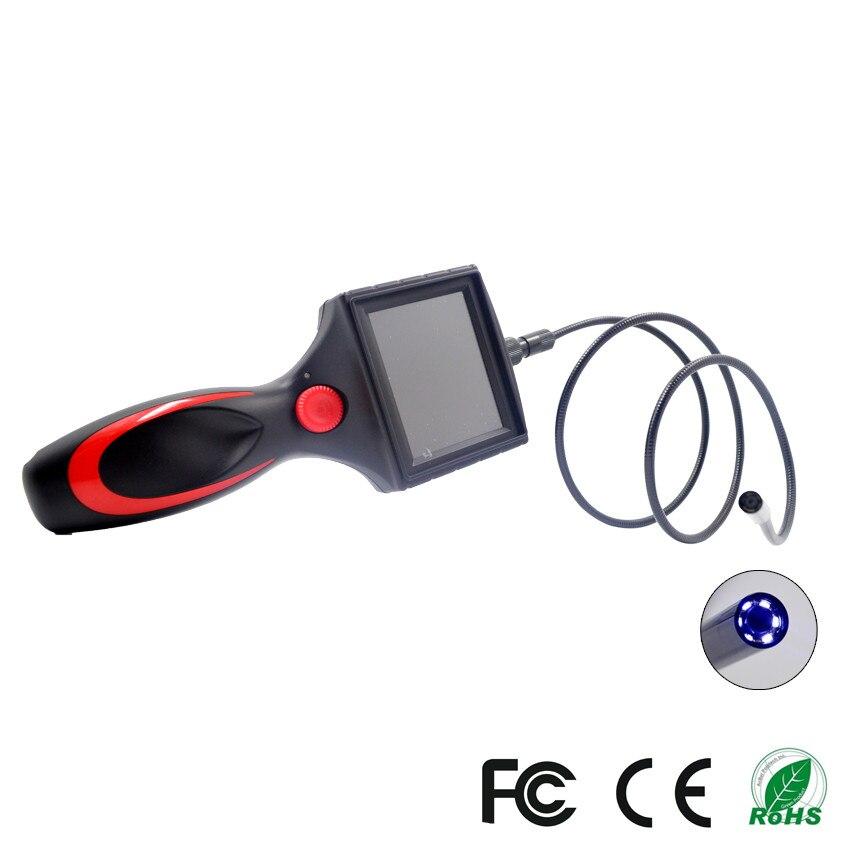 "Waterproof Endoscope 8.5mm Probe Handheld 2-6 CM Endoscope for Repairing Tool 3.5"" TFT HD LCD Display Endoscope With 80CM Tube"