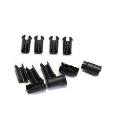 30 pièces vtt VTT cadre de vélo U boucle pour boîtier de câble de frein tuyau Tube manette de vitesse Guides de câble bouton Clips de tubes fixes