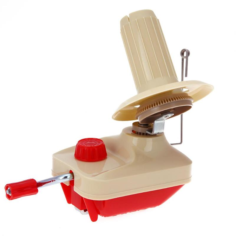String Ball Wool Winder Holder Hand Operated Swift Coiler for Yarn Fiber Cable Winder Machine Fiber Wool Yarn Craft