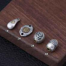 Handmade 925 Silver Charm Sterling Bracelet Charm Pure Silver Jewelry Beads DIY Bracelet Findings