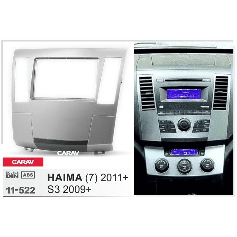CARAV 11-522 Top Kwaliteit Radio Fascia voor HAIMA (7) 2011 + Stereo Fascia Dash CD Trim Installatie Kit