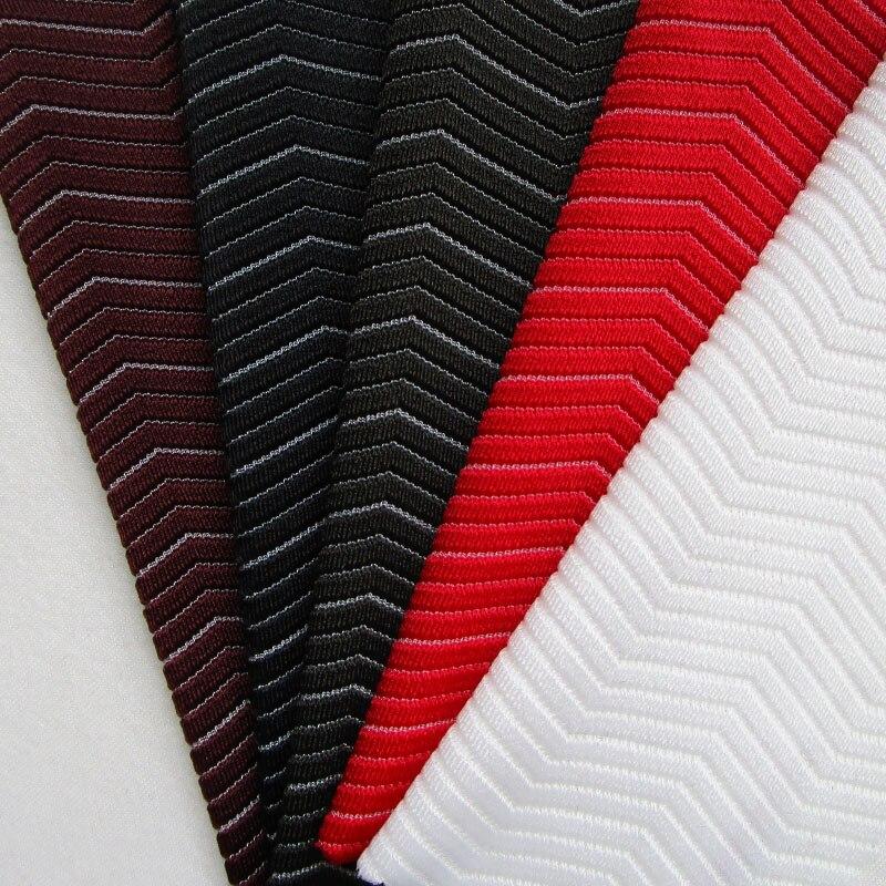 INS moda novedosa ola elástica deportiva tela Super suave pantalones de Yoga tela elástica Noche vestidos de graduación slim tejido de costura