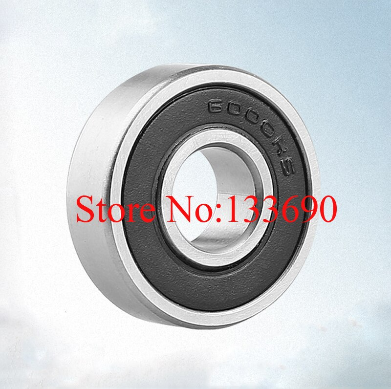 Шарикоподшипник steel10x26x8mm, 10 шт./лот, 6000 2RS, с глубоким желобом, 6000RS