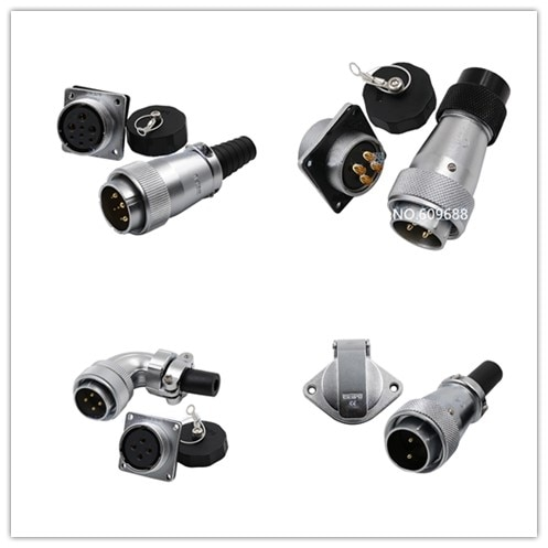 WS40 aviación enchufe conector de micrófono WS40-5 9 15 26 31 Pin