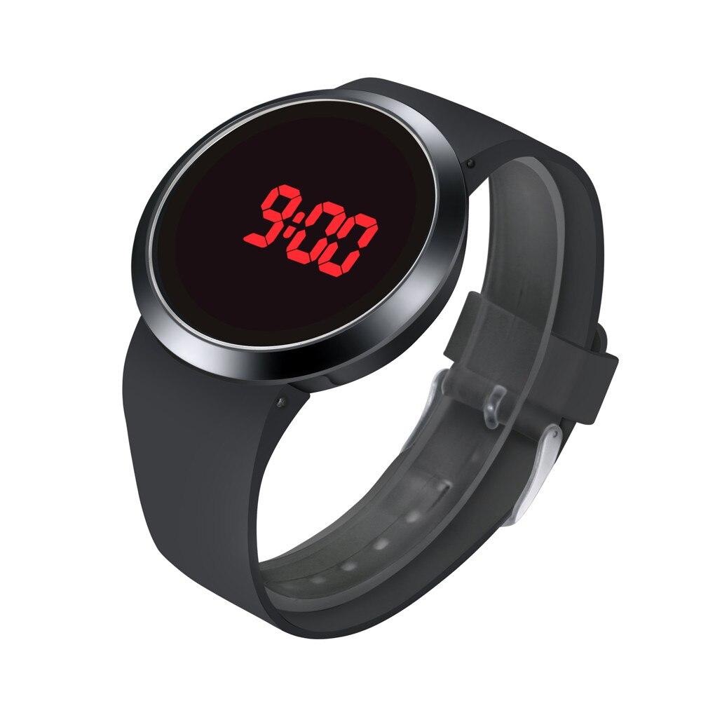Men Sport Casual LED Watches Mens Digital Clock Man Army Military Silicone Wrist Watch Clock Hodinky Ceasuri Relogio Masculi A4