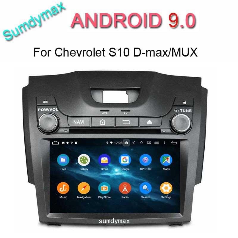 TDA 7851 DSP android 9,0 coche dvd reproductor multimedia para chevrolet S10 pionero colorado D-MAX ISUZU de audio de coche Unidad Principal
