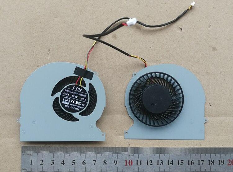 Nueva computadora portátil ventilador de refrigeración de la cpu para Clevo P650SE g7 Z7 Z8 T5 DFS501105FR0T FHCX Z6 Z7 Z7M Z8 G6 G7 G8 t5 T7 P650SE/SG/A