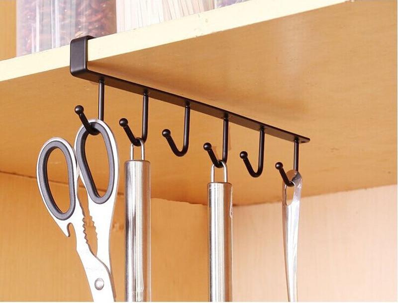 Perchero de pared crochê cozinha armazenamento gancho para colgar rack armário pendurado gancho cabide peito organizador de armazenamento titular @