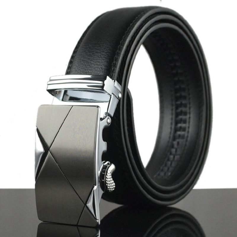 WOWTIGER Männer gürtel mode-business Berühmte marke luxus beliebte Hohe qualität legierung taste gürtel für männer Korsett gürtel