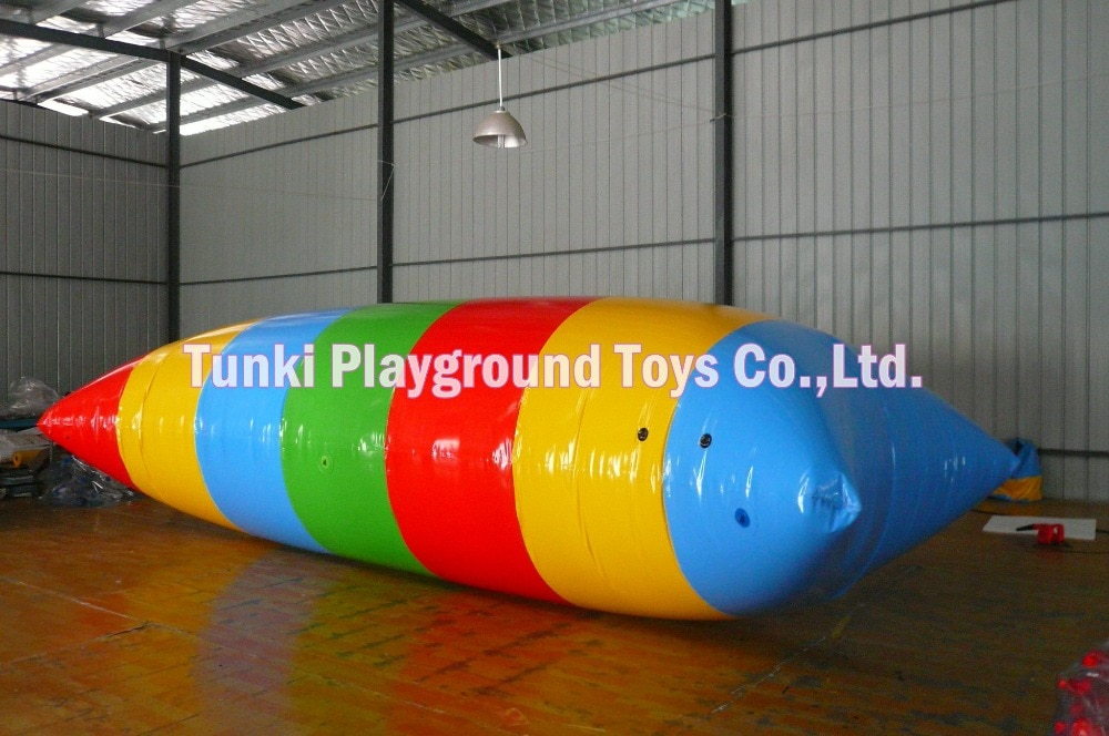 7*3m inflable agua jumper blob