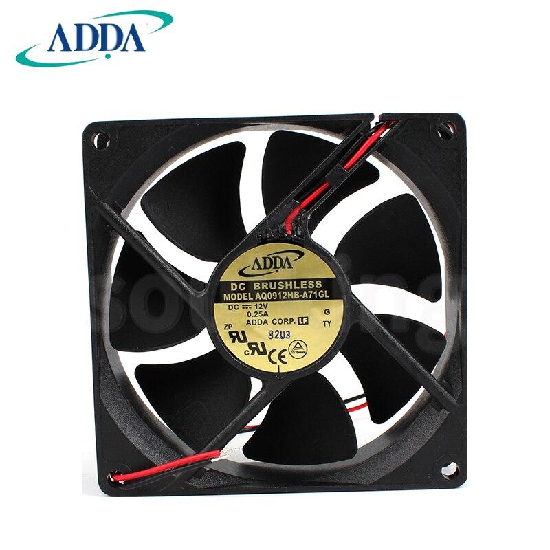 جديد ADDA 9CMCM 9225 DC12V 9025 AQ0912HB-A71GL مقاوم للماء مروحة التبريد