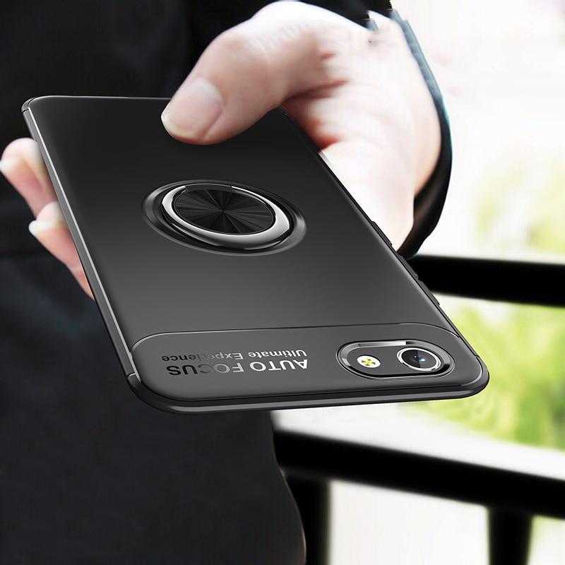 """Huawei Honor 7A Dua-L22 5,45 """"funda rusa Luxurry silicona fibra de carbono funda trasera suave TPU funda para Honor 7A 5,45 accesorio"""