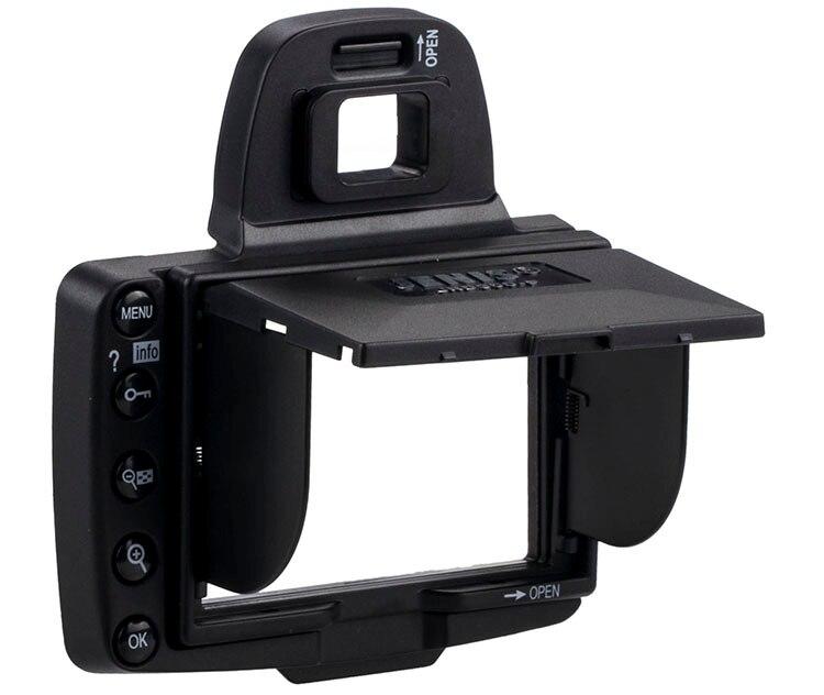 Protetora de Tela e Sun Sombra para Nikon Câmera Capa Sombra Escudo Tampa D300 – D300s Frete Grátis Lcd
