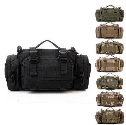 Bolsa de MultiCam de Color negro Tan, SWAT Molle, bolsa de cintura de caza