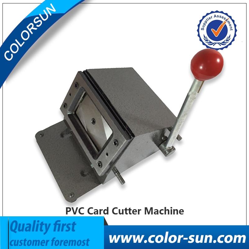 Manual PVC card cutter 86*54mm, pvc sheet cutting machine