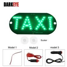 4 Kleuren Taxi Led Autovoorruit Cab Indicator Lamp Teken Blauw Wit Rood Groen Led Voorruit Taxi Light Lamp Drl DC12V Bj