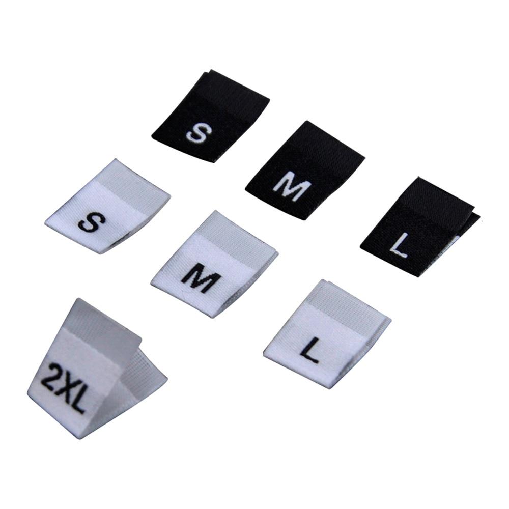 Étiquettes de taille damask pour vêtements   Étiquette de taille haute, pour vêtements denfants, étiquette à plier au center pour vêtements en tissu, pour la couture, Stock