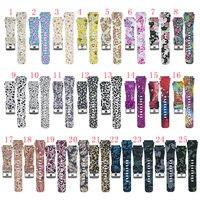 ZUCZUG 15 видов цветов ремешок для Huami Amazfit Stratos 1 2 умные часы 22 мм ремешки для Xiaomi Huami Amazfit Pace сменный ремешок