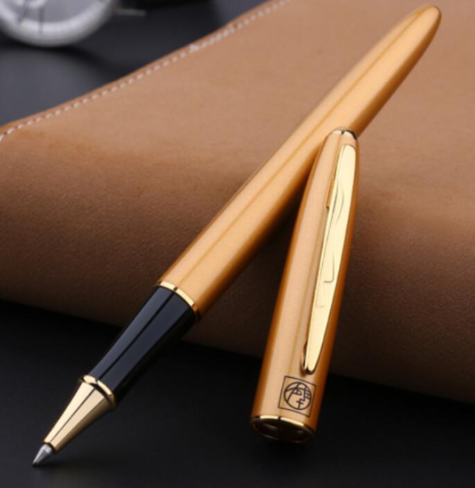 Рекламная Канцелярия серия Пикассо модная гладкая черная шариковая ручка Роскошные Металлические подарочные шариковые ручки для письма