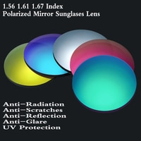 2Pcs 1.56 1.61 1.67 Index Prescription Sunglasses Lens Polarized for CYL over 2.0 or Multifocal Progressive Sun Glasses Lenses