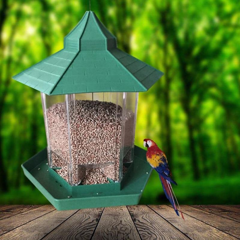 Popular Chic impermeable Gazebo en forma de colgante de aves silvestres de al aire libre de la casa al aire libre colgando decoración envío gratuito