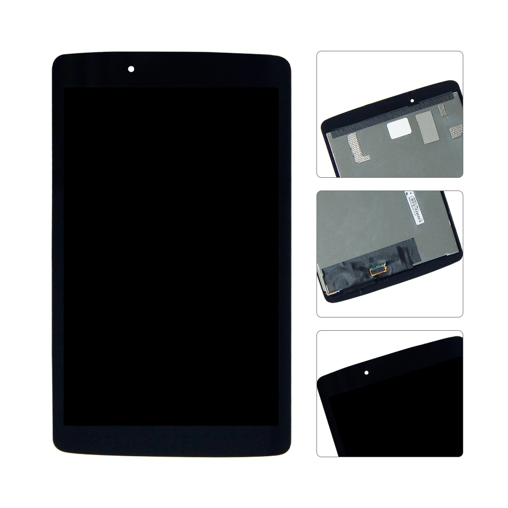Für LG G Pad 8,0 V490 LCD Display-Monitor Touch-Panel Digitizer Glas Montage V480 LCD