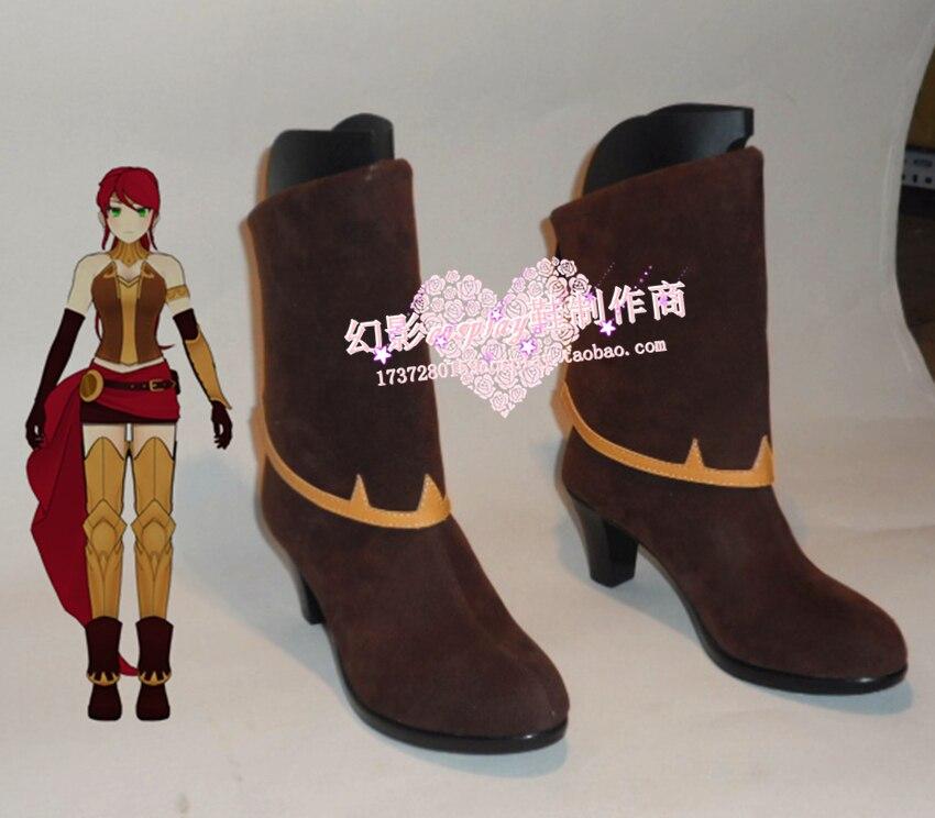 RWBY Pyrrha Nikos cosplay zapatos botas a medida